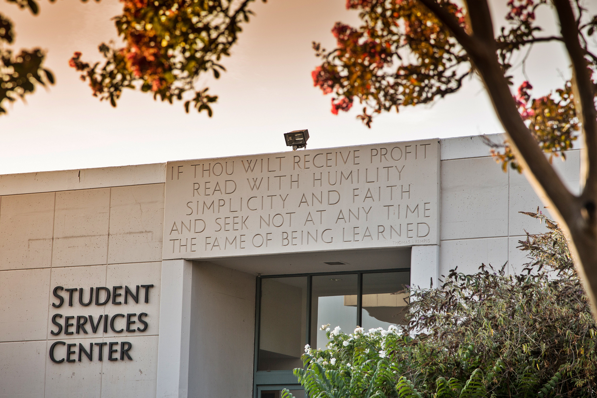 The student services building at Pasadena City College.